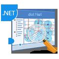 矢量数据空间分析 dot Net
